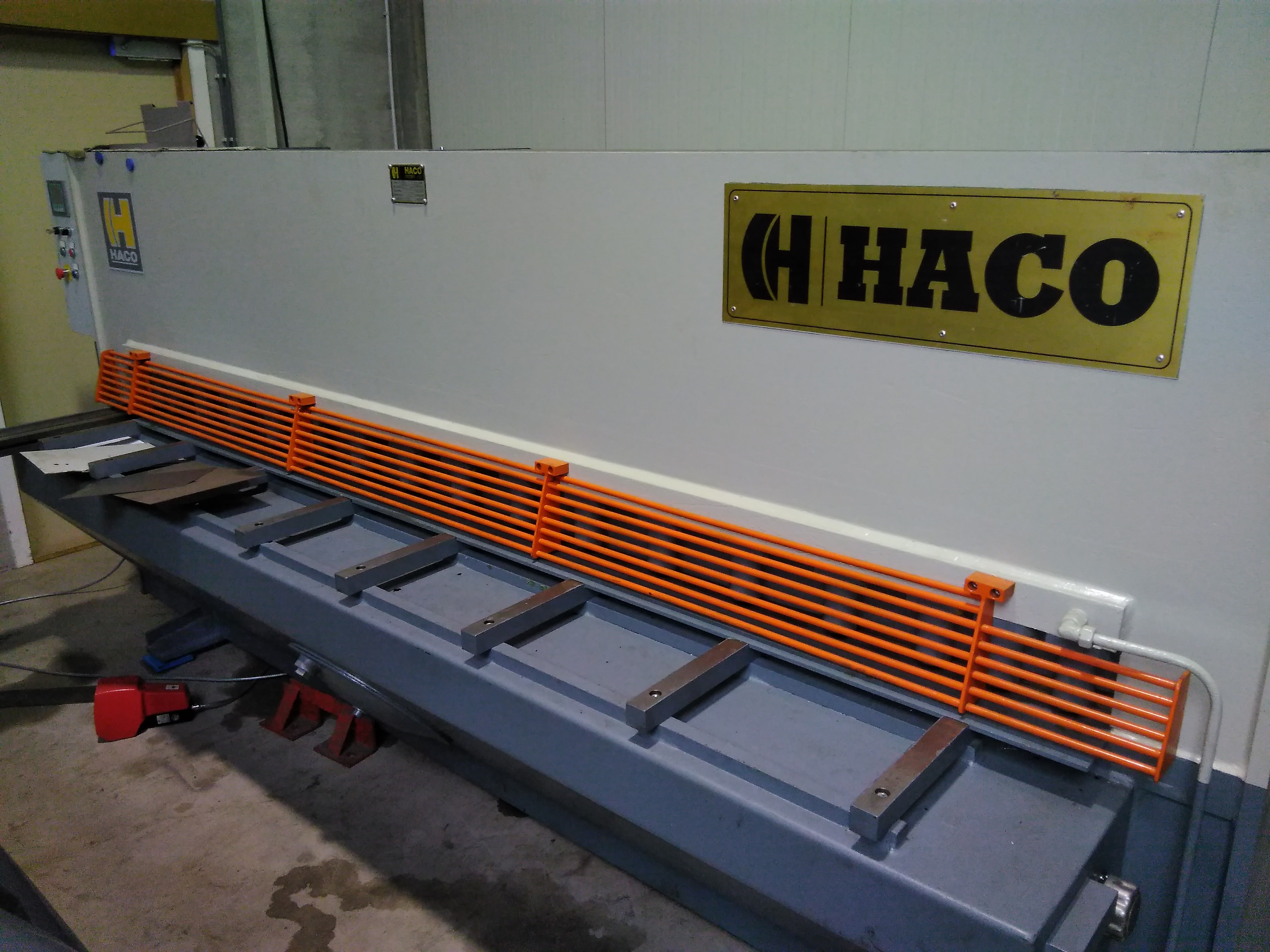 Used machines = HACO schaar